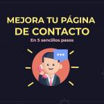 ¿Cómo mejoro mi página de contacto?